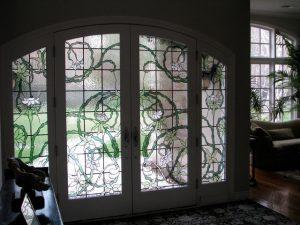 geamuri cu vitralii